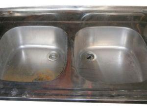 Kétmedencés mosogató