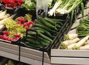 Zöldséges állvány