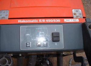Takarítógép Hakomatic E/B 530