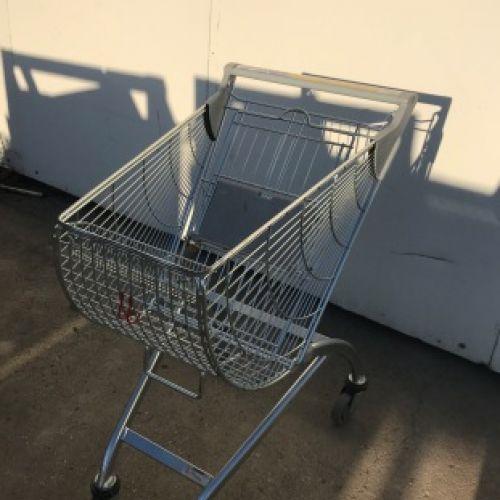 WANZL típusú bevásárlókocsi