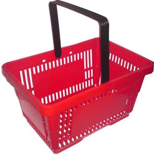 Új műanyag bevásárlókosár