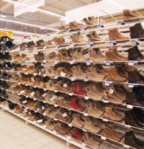 Cipős polcrendszer